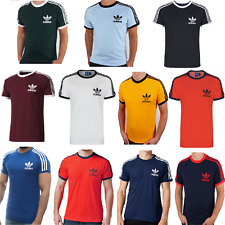 Adidas Originals Men's T-Shirt California Essentials Crew Neck Short Sleeve New