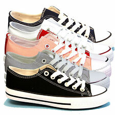 Markenlose Damen-Turnschuhe & -Sneaker ohne Muster mit Schnürsenkeln