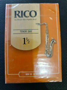 Rico Royal - Old Packaging New Stock - Tenor Saxophone #1.5 10 Pack