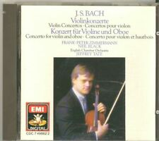 Violin Concerti 1 & 2, Bach, Zimmermann, Tate, Eco - (Compact Disc)