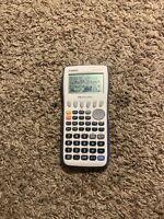 Casio FX-9750GII Graphing Calculator - White/blue