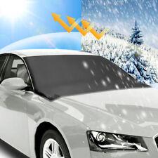 Car Windshield Snow Sun Cover Tarp Ice Scraper Frost Dust Removal Truck Van SUV