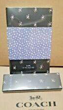 NEW ARRIVAL NWT COACH F67144 & F67145 NOTEBOOK & PENCIL SET DITSY FLORAL PRINT