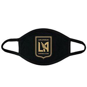 LAFC, Face Mask, Handmade Mask, black,100% Cotton, Futbol, MLS, Soccer