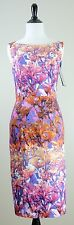 NWT Black Halo Shanna Floral Sheath Dress, Size 8 (Sold Out $390)