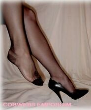 FIRST QUALITY NYLONS USA   OFF BLACK