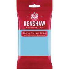 Renshaw Ready To Roll Icing Fondant Cake Regalice Sugarpaste 250g BABY BLUE