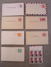 US unused stationary postcards lot of 60 & 6 stamps