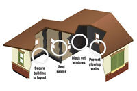 Light Block Kit for buildings - Woodland Scenics JP5716 - OO gauge