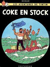 "18x24""Decoration poster.Interior design Art.Tin dog.French.Tintin stranded.6389"