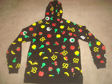 MNWKA Mishka Munchies Pullover Hoodie Sweatshirt Men Medium M Pac Man Retro 2013