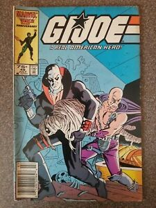 GI Joe ARAH (1982 Series) #49 July 1986 Marvel 25th Anniversary
