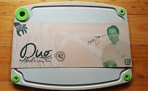 Husk'sWare Cutting Board DUO(M) - Antibacterial with Nano Silver Technology
