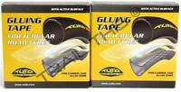 Two (2) Pack Tufo Gluing Tape for Road Bike 700c Sew Up / Tubular Tires 19mm 2M