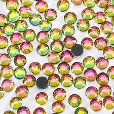 1440 pcs Iron-On Flat-Back Hot-Fix Seed Rhinestones Color & Size Multi Selection