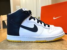 NIKE DUNK HIGH NEW SIZE 10 MEN'S SNEAKERS 2007 317982 141 MIDNIGHT NAVY  SHOES