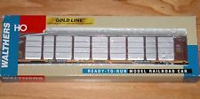 WALTHERS 932-4875 GOLD LINE THRALL 89' TRI-LEVEL AUTO CARRIER CNW ETTX 850590