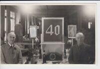 WW2 pirv. Foto AK 40 Jahre Betriebsjubiläum Werkstatt Breslau Wroclaw 1940