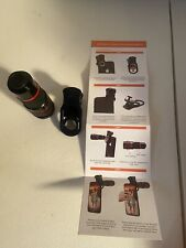 New listing 20X Zoom Lens Telescope Telephoto Clip on for Mobile Cell Phone Camera Universal