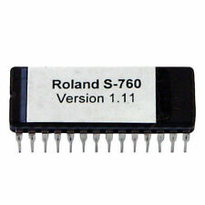 Roland S-760 Version 1.11 firmware OS update EPROM