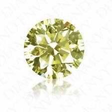 1.9-2.1MM 1TCW FANCY YELLOW VVS-SI LAB GROWN ROUND DIAMONDS