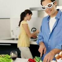 Kitchen Onion Goggles tear Free Cutting Chopping Eye Protect M8H5 Glasses
