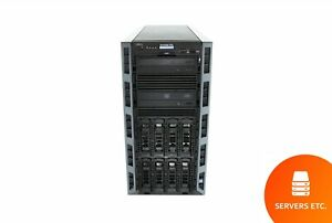 DELL POWEREDGE T430 2 x 12 CORE 2.30GHz E5-2670 V3 64GB 2 x 6TB 7.2K SAS H730
