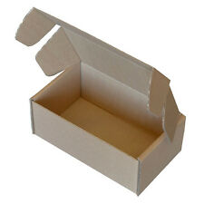 Brown Die Cut Folding Lid Postal Cardboard Boxes Small Mailing Shipping Cartons