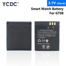 3.7V 350mAh Rechargeable Li-ion Polymer Battery For GT08 Smart Watch Rebirth 4B