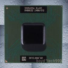 Intel Pentium 4-M SL6VC Single-Core CPU Processor 2.4 GHz 400 MHz Socket 478/N