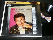Very displayable LIBERACE Piano Song Book Movie Themes CORAL Stereo Banner LP