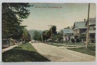 Shinglehouse Pa Honeoye Street 1911 to Bolivar NY Postcard N9