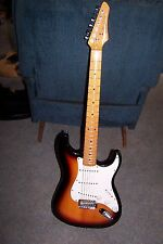 GORGEOUS SX CUSTOM HANDMADE VINTAGE SERIES STRATOCASTER ELECTRIC GUITAR