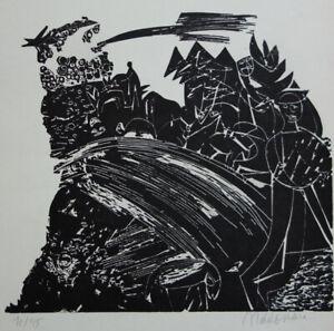 KURT MOLDOVAN (1918-1977): ORIGINAL LITHOGRAFIE, HANDSIGNIERT