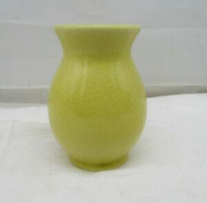 "Art Deco - WMF Keramik Vase Ziervase ""Gelb Craquelé"" ~ 1920/30 Jahre"