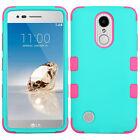 LG Phoenix 3 M150 & LG Fortune M153 - Hybrid Armor Shockproof Phone Case Cover