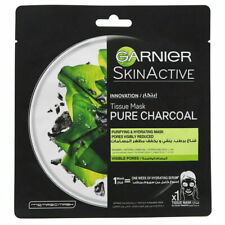 Garnier Skin Active Pure Charcoal Tissue Mask 28g Purifying and hydrating mask