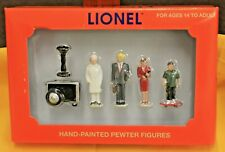 O - LIONEL 73-7852-250 - DOWNTOWN PEOPLE 6-14218 Set of 5 Hand Painted Figures