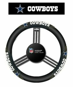 Dallas Cowboys NFL Massage Grip Steering Wheel Cover