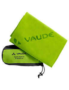 Vaude Handtuch Sports Towel M / grün, Outdoor, Reisen, Wandern  60 x 90 cm