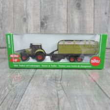 SIKU 1846 - 1:87 - Traktor mit Ladewagen - OVP - #T29450