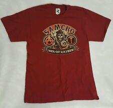 SOA T-Shirt Men of Mayhem Sons of Anarchy Black Short Sleeve Shirt M EUC