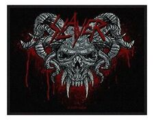 SLAYER demonic 2009  - WOVEN SEW ON PATCH - free shipping