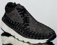 Nike Air Footscape Woven Chukka SE men lifestyle shoes NEW black 857874-001