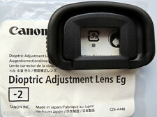 Canon Dioptric Lens Eg-2 for EOS 1DIV,1DX,1Dlll and 1Dslll,5Dlll,5DS,7D.7Dll