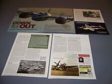 "VINTAGE..P-38 ""JAMES STARK""  HISTORY ..HISTORY/DETAILS/PHOTOS..RARE! (160M)"