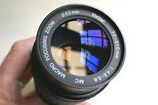 YASHICA/CONTAX fitting 70-210mm/f4.5-5.6 Vivitar Macro zoom lens.