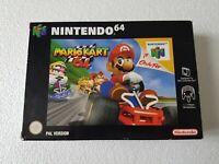 Mario Kart 64 - Nintendo 64 N64 Game - [CIB PAL UKV] Boxed/Manual