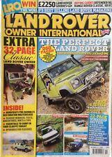 Land Rover Owner International Magazine.  October 2009. Issue 11