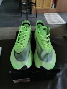 Size 10 - Nike ZoomX Vaporfly Next Electric Green NEW WITHOUT BOX
